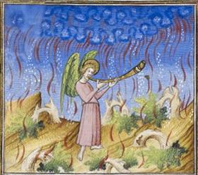 BL_Royal_MS_19_D_III_f._597v_ _Apocalypse_ _1st_trumpet